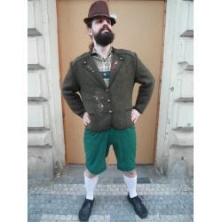 Bavorské vyšívané sako