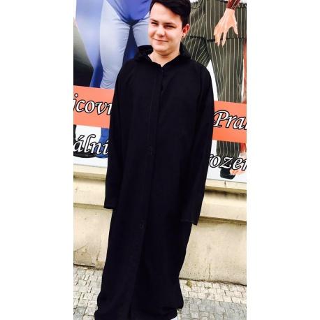 Plášť s kapuci pro upíra
