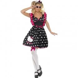 Kostým polka dot - retro šaty