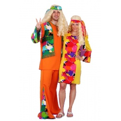 Hippie kostým pánský