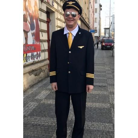 Kostým pilota Czech airlines