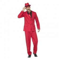 Kostým Mafián červený
