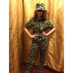 Vojenský kostýmek