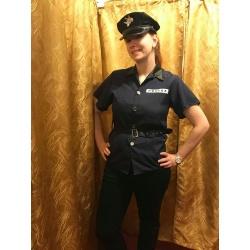 Policejní kostým dámský
