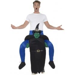 Kostým jezdec na čarodějnici