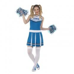 Kostým roztleskávačky modrý