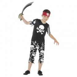 Dětský kostým pirátského kapitána