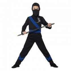 Kostým ninja modrý