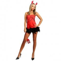 Čertovský sexy kostým Halloween
