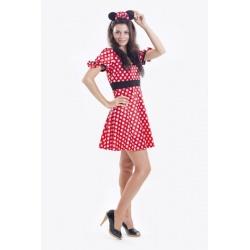 Halloweenský kostým Minnie Mikimausky