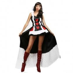 Halloweenský Kostým srdcové královny