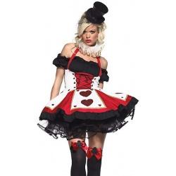 Halloweenský Kostým pokrové královny