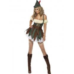 Halloweenský Pohádkový kostým lesní ženy