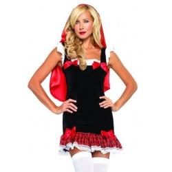 Halloweenský kostým Červená karkulka