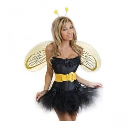 Sexy včelka Mája korzet