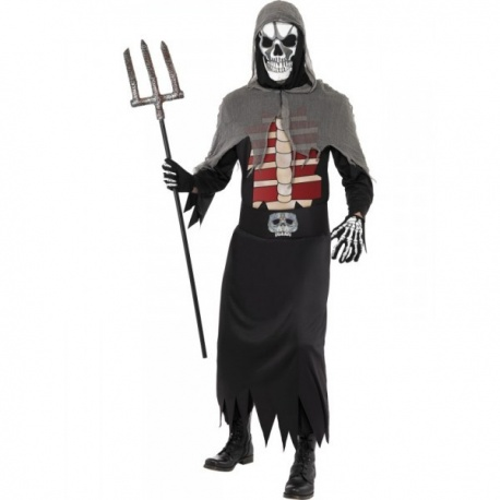 Halloweenský kostým Smrťáka
