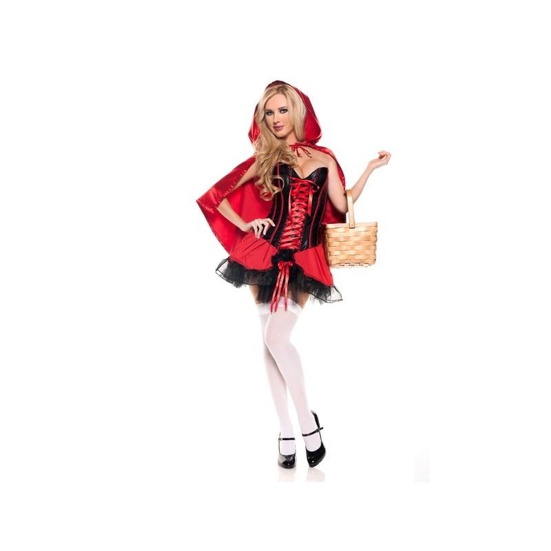 Kostým Červené Karkulky pro dospělé - půjčovna pohádkových kostýmů Praha 1c0b2a98487