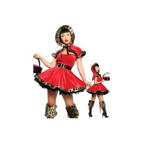 Kostým Červené Karkulky pro dospělé