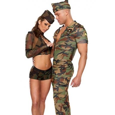 Vojenský kostým
