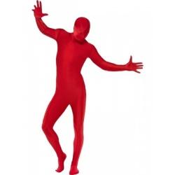 Červený morpsuite kostým - second Skin