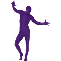 fialový morpsuite kostým - second Skin