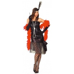 kostým šaty charleston